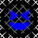 Laugh Squint Happy Icon