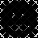 Laugh Wink Icon