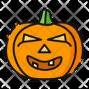 Laughing Pumpkin Halloween Icon
