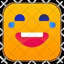 Joy Laughing Smile Icon