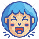 Laughing Emoji Smileys Icon