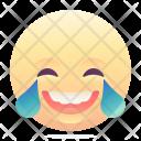 Laughing Hard Emoji Icon