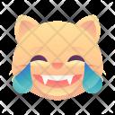 Laughing Cat Emoji Icon