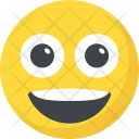 Happy Excited Laughing Icon