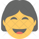 Smiling Woman Emoji Icon