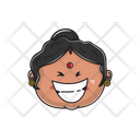 Laughing Aunt Icon