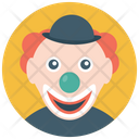 Laughing Clown Happy Clown Joker Icon