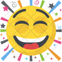 Laughing Emoji Expression Icon