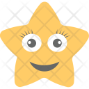 Laughing Star Emoji Icon