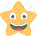 Laughing Star Smiling Icon