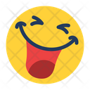 Laughing Face Icon