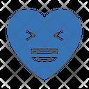 Laugh Happy Heart Icon