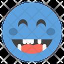 Laughing Face Emoji Emoji Emoticon Icon