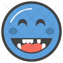 Laughing Face Emoji Icon