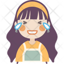 Loud Laughing Girl Icon