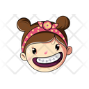 Laughing Girl Icon