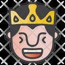 Laughing King Icon
