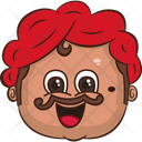 Laughing Uncle Icon