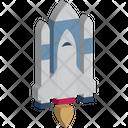 Launch Rocket Shuttle Icon