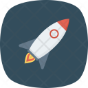 Launch Rocket Space Icon