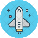 Launch Startup Rocket Icon