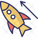 Launch Missile Rocket Icon
