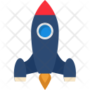 Launch Startup Missile Icon