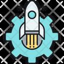 Launch Optimization Launch Startup Icon