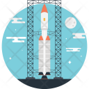 Launch rocket Icon