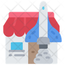 Launch Shop Rocket Start Up Icon