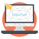 Startup Launch Website Icon