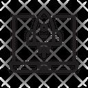 Rocket Seo Space Icon