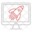 Launch Website Growth Icon