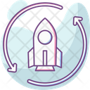 Launching Arrow Launch Icon
