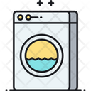Laundry Washing Machine Cloths Icon