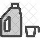 Laundry Product Detergent Icon