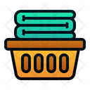 Laundry Basket Basket Clothes Icon