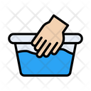 Basket Water Laundry Icon