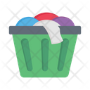 Laundry Clothes Basket Icon