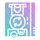 Exchange Coin Automatic Icon