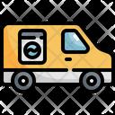 Laundry Car Service Icon
