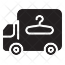 Laundry Car Truck Shipping Icon