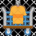 Cart Cloth Hotel Icon