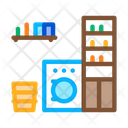 Laundry Home Rooms Icon