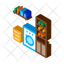 Laundry Machine Washing Icon