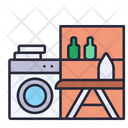 Laundry Room Home Laundry Icon