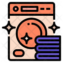 Laundryservice Hygiene Drycleaning Icon