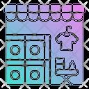 Laundry Service Wash Icon
