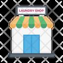 Laundry Shop Store Icon