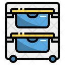 Laundry Station Basket Icon